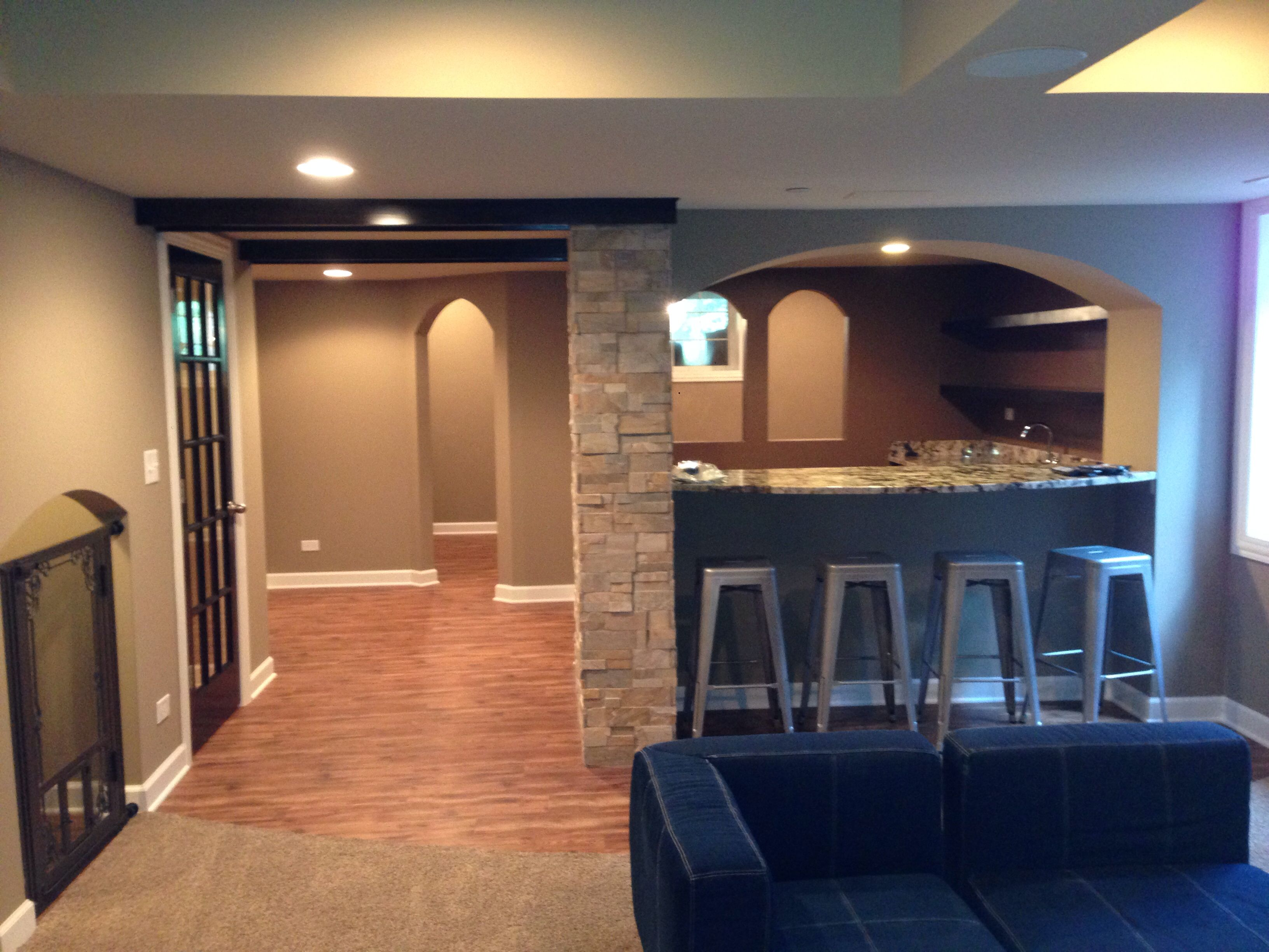 Awesome Remodel Basement Pictures
