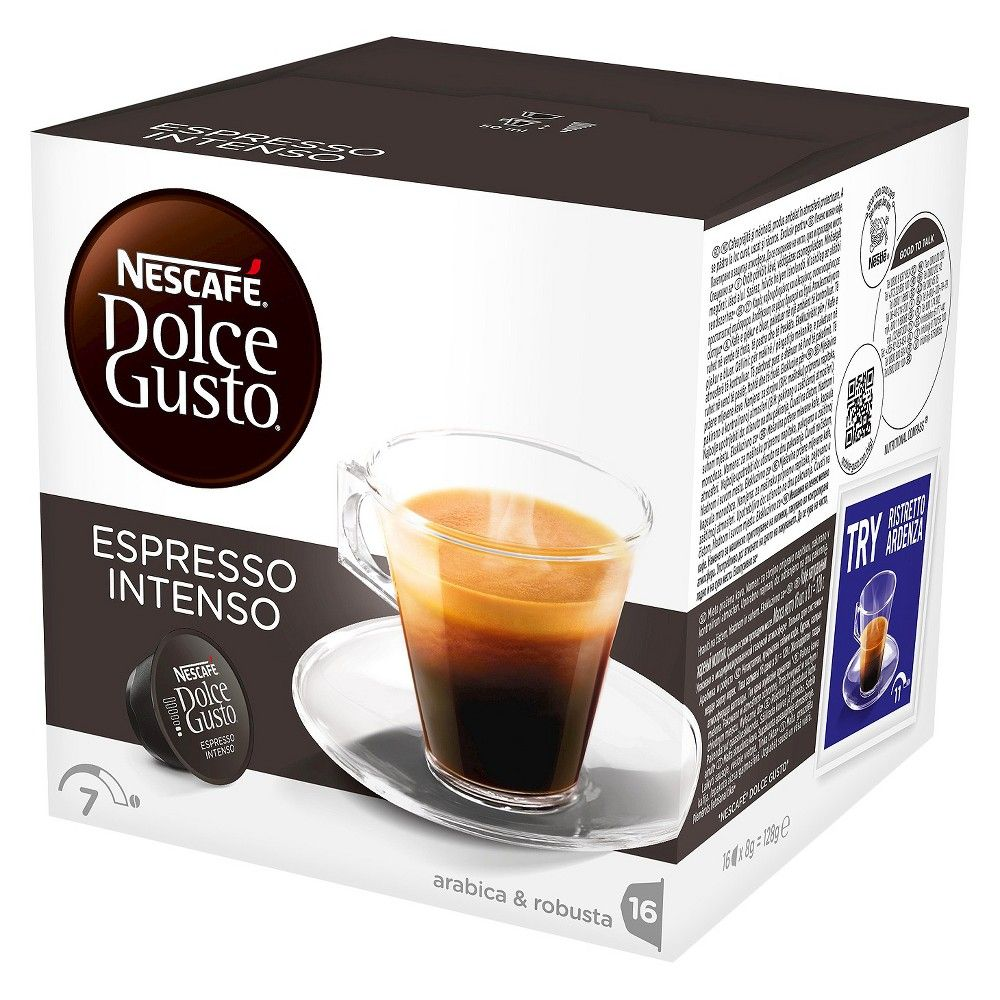 nescafe dolce gusto espresso intenso coffee capsules 16ct. Black Bedroom Furniture Sets. Home Design Ideas