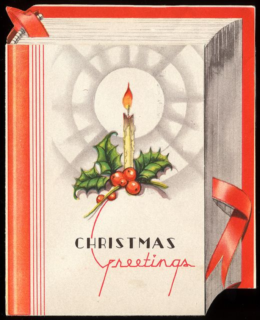Lovely vintage Christmas greetings. #vintage #Christmas #cards