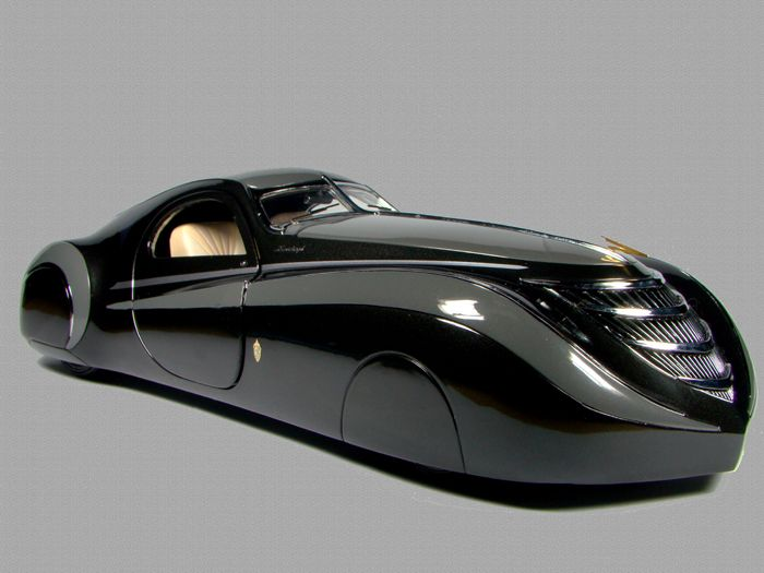 1939 Duesenburg Coupe Simone Midnight Ghost