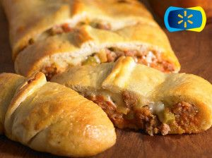 Pizza Calzone Bake (with sausage)