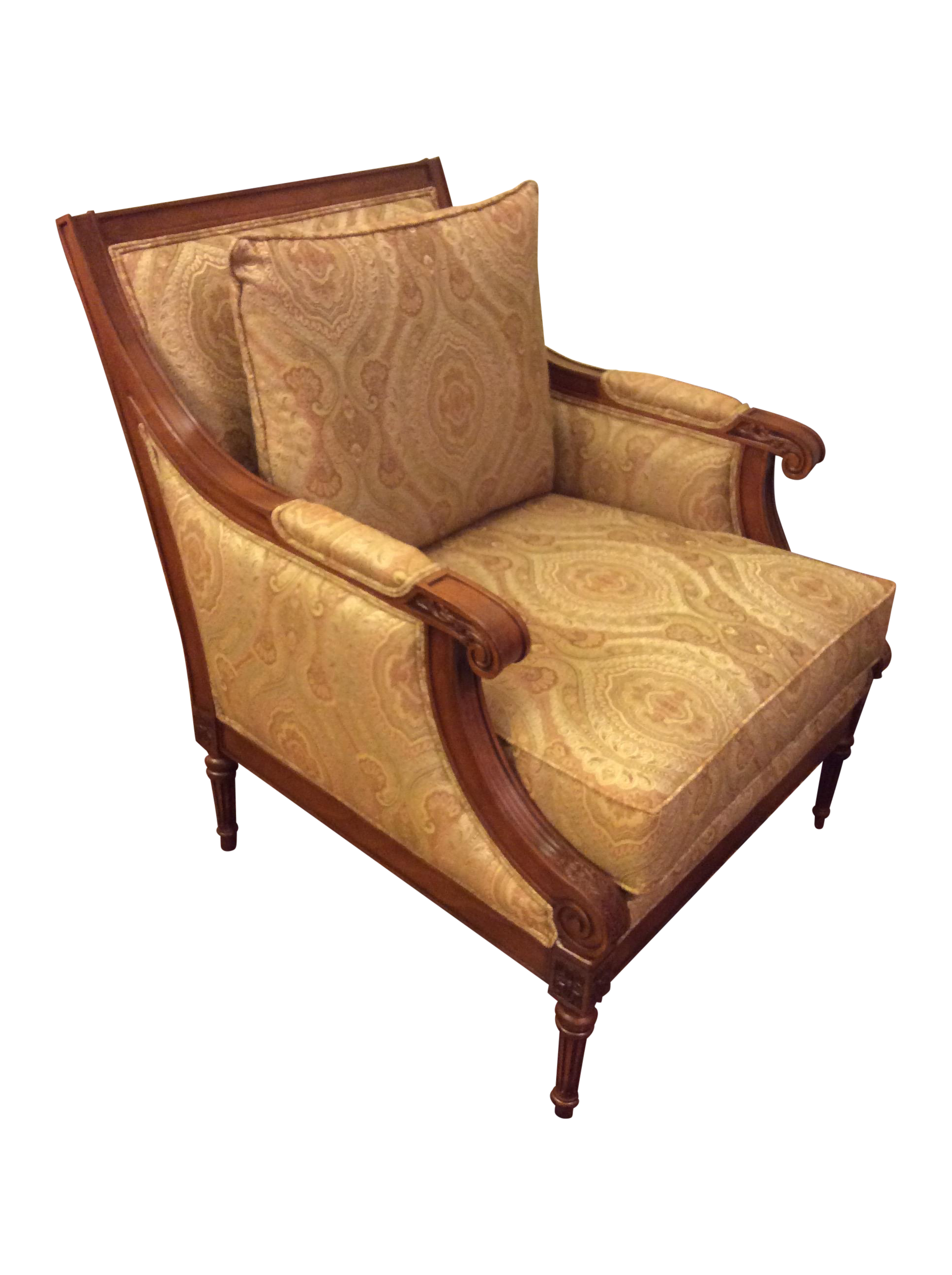 Ethan Allen Club Chairs Ethan Allen Fairfax Chair On Chairish 350 Comfy Chairs