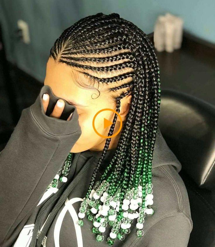 2019 Ghana Tissage De Coiffures De Belles Idees De Cheveux De Tresses Africaines Pour Idee Coiffure Cheveux Crepus Cheveux Tresses Coiffure