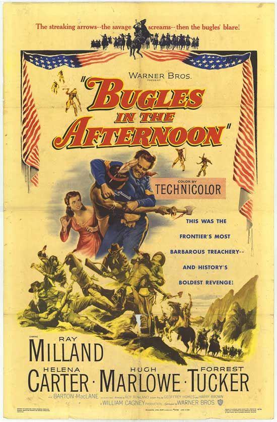 Buglers In The Afternoon Western Movies Brothers Movie Vintage