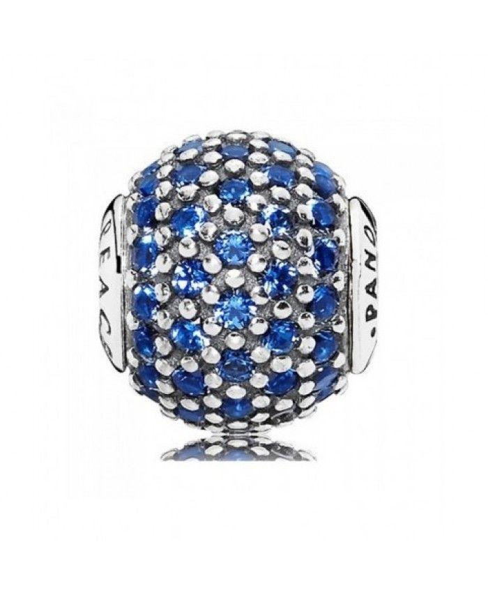 Pandora UK Essence Blue Crystal Peace Charm | Pandora essence ...