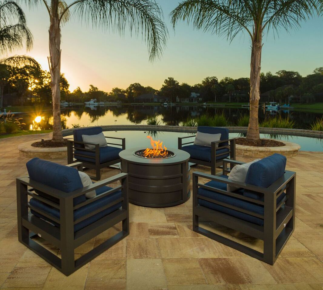 Shop At Backyard Living In New Orleans For All Of Your Outdoor Furniture  And Fire Pits
