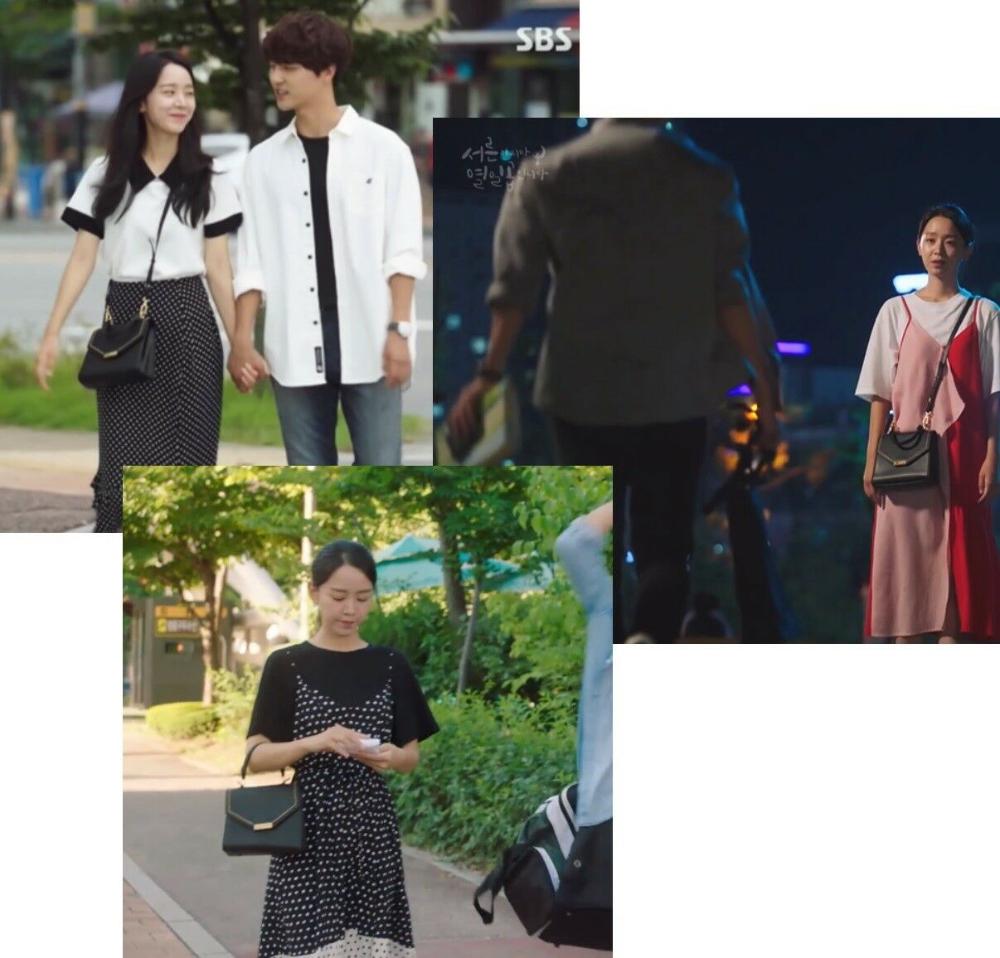 Carlyn Lily Bag Black H78362010 Korean Drama Celebrity Bags Ebay