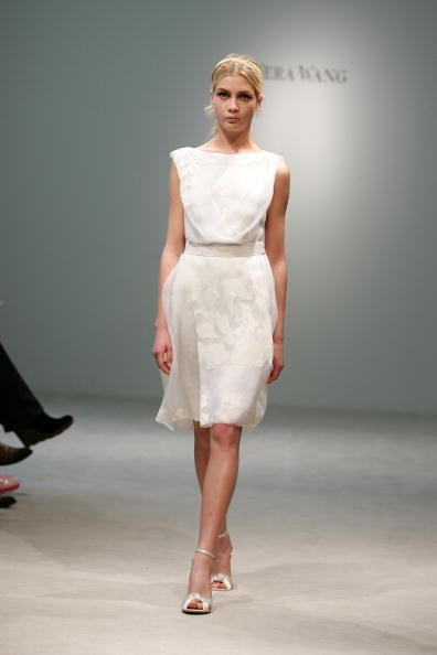 Short Bridal Dress By Vera