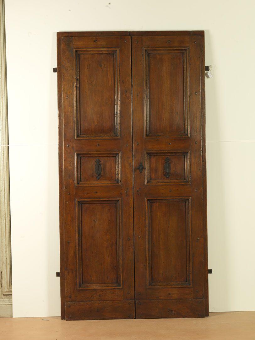 Riproduzione di una porta del '700 a tre riquadri ...