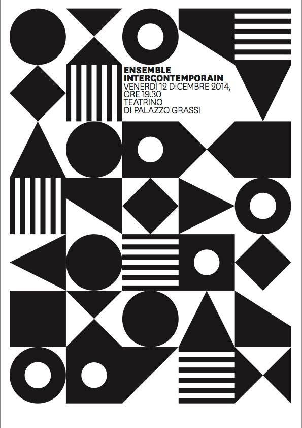 L Sonnoli Ensemble Intercontemporain Graphic Design Posters