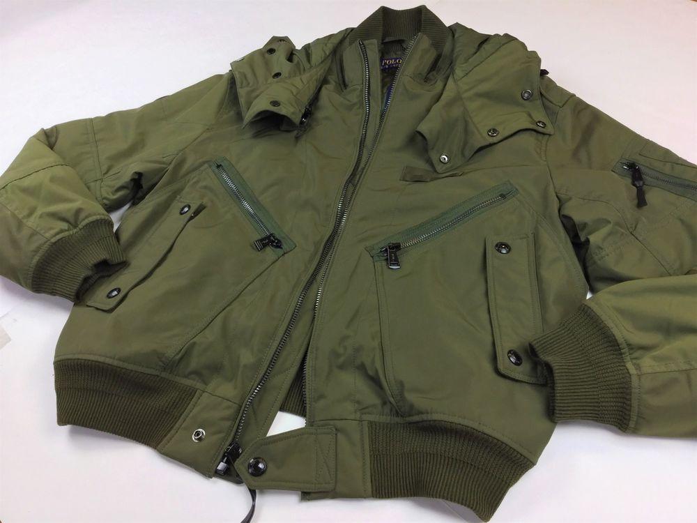Details zu Polo Ralph Lauren Men M65 Military Army Patch Camo Field Jacket Coat M L XL 2XL