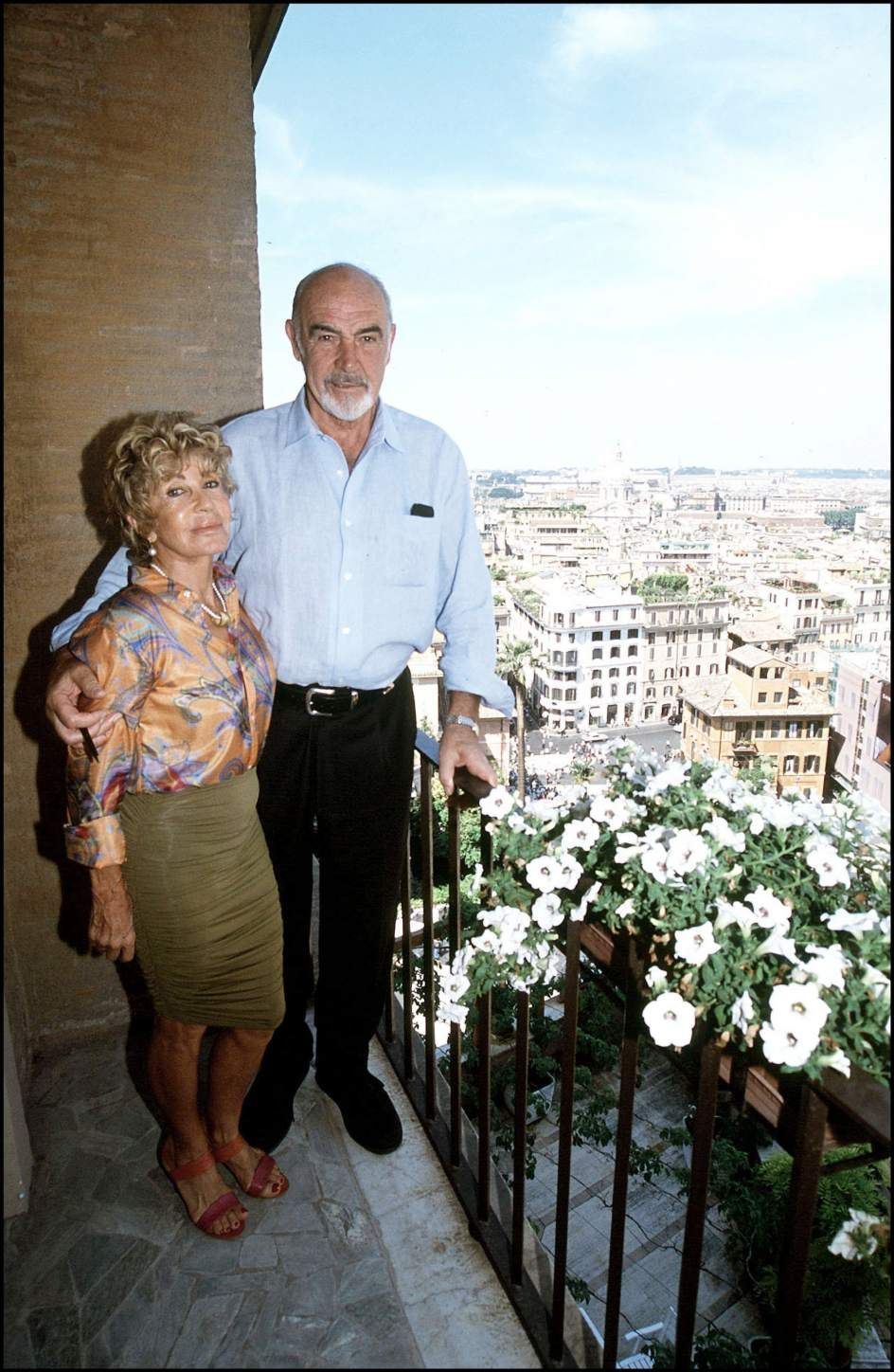 Image result for sean connery and micheline