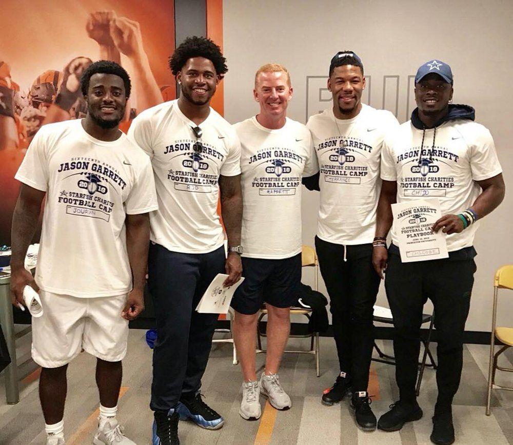 Players Join Coach for 16th Annual Jason Garrett Starfish