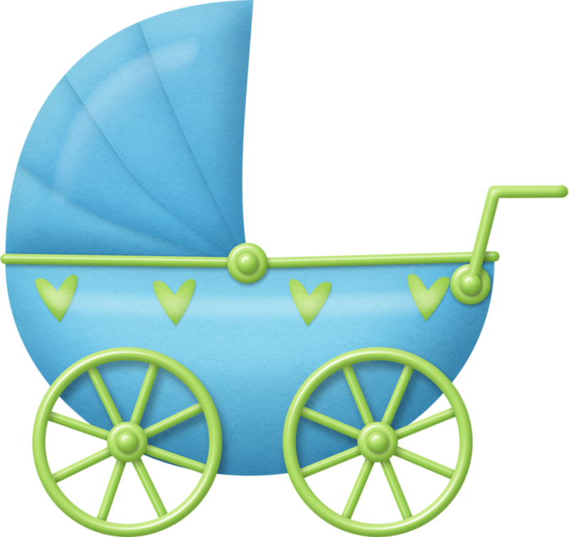 картинка для скрапбукинга колясочка