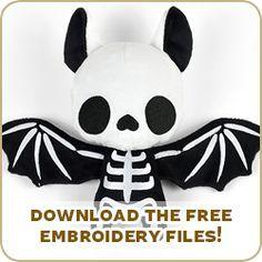Free Pattern Friday! Bat Plush