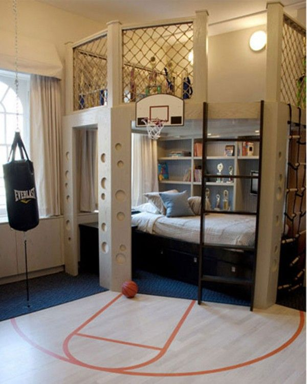 Fun Bedroom Ideas Play Area Or Book Nook Above The Bed For The