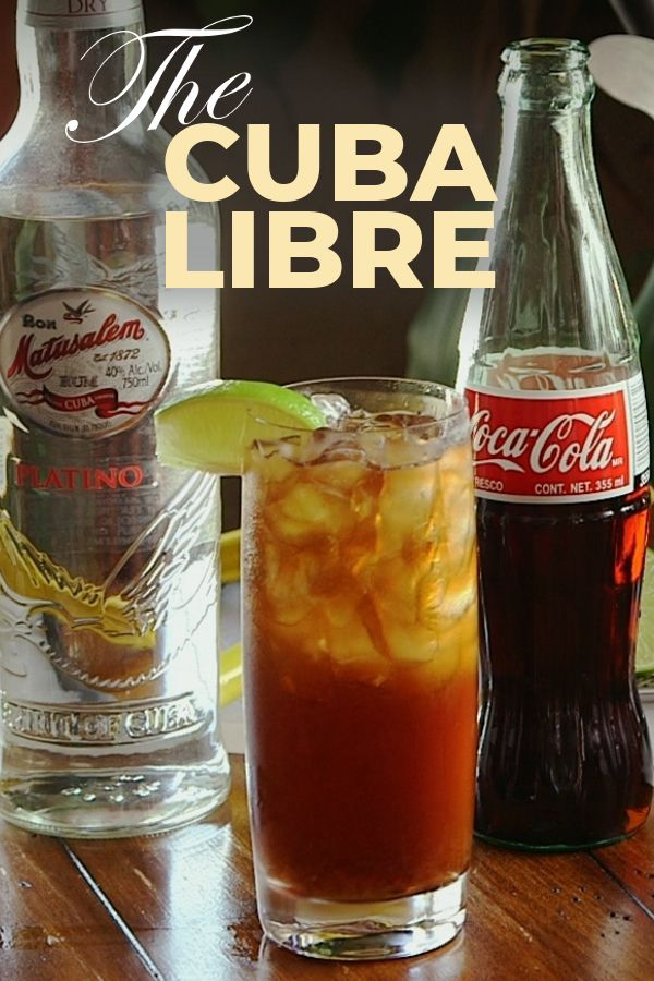 How to make a Cuba Libre #cubalibre