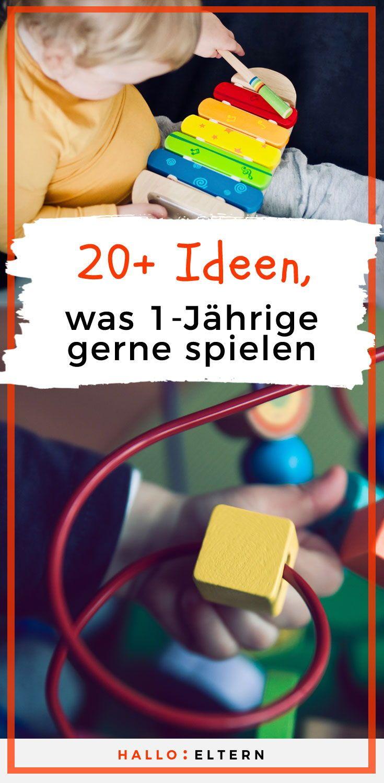 Zeit für neues Spielzeug? 20+ Ideen, was 1-Jährige gerne spielen. #quotetoparents