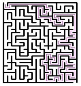 krazydad blog where is shares easy to hard printable mazes - I believe  over a thousand of them
