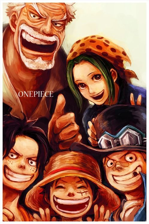 Asl Brothers Monkey D Luffy Portgas D Ace Sabo With
