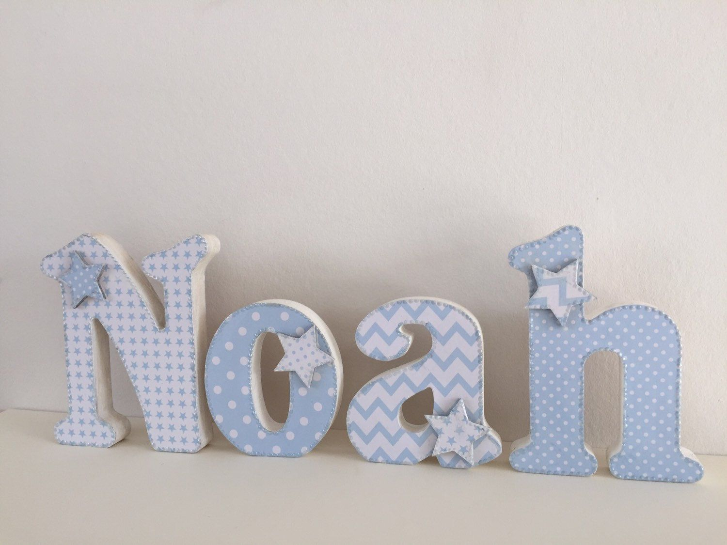 Wooden Baby Letters For Nursery Uk