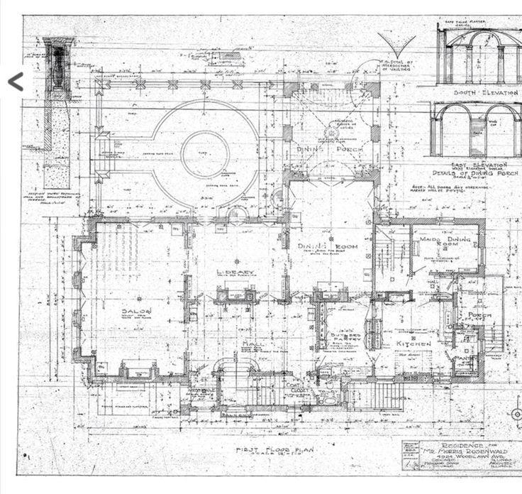 C0a7dba10fb1c0d3fa0db91552bb0b94 Jpg 736 696 Architectural Floor Plans Craftsman Floor Plans Floor Plan Drawing