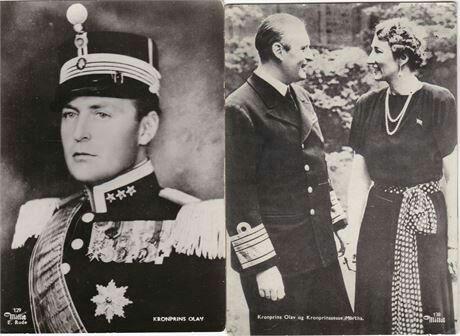 Kronprins Olav / Kronprinssesse Märtha