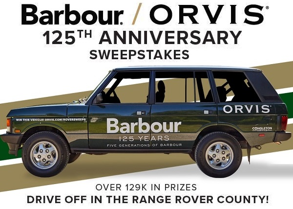Orvis Com Roversweepstakes Your Dream Range Rover Classic Car Is Just Click Away Range Rover Range Rover Classic Sweepstakes