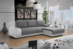 Leon 4 L Couch Couchgarnitur Sofagarnitur Wohnlandschaft Sofa Mit