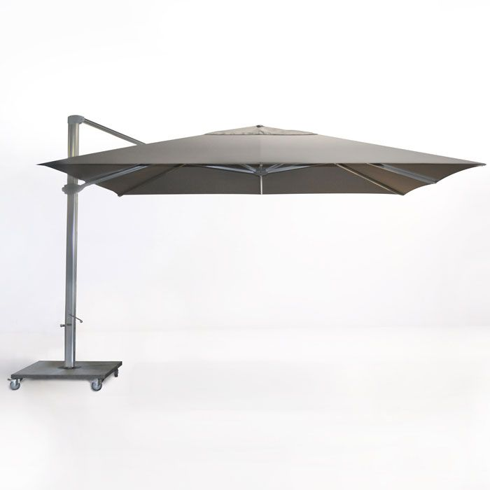 Follow The Sun With This 13 Ft Square Cantilever Umbrella It Is Manufactured In Aluminum Frame Stainless Steel Outdoor Patio Umbrellas Patio Patio Umbrellas