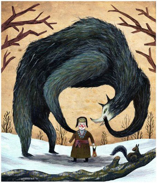 'A Conversation I've Never Had' by Nikko Barber....makes me think of the wolf and the woodcutter in Red Riding Hood...