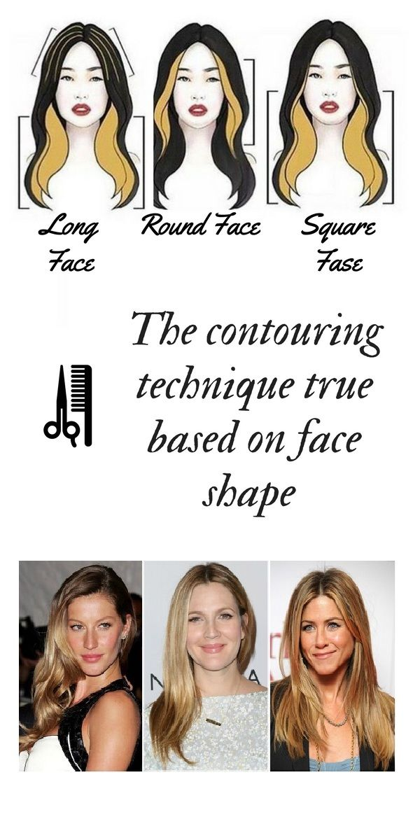 The Contouring Technique True Based On Face Shape Hair Coloring Hairstyles Ombre Balayage Flamesbalay Long Face Shapes Face Shapes Face Shape Hairstyles