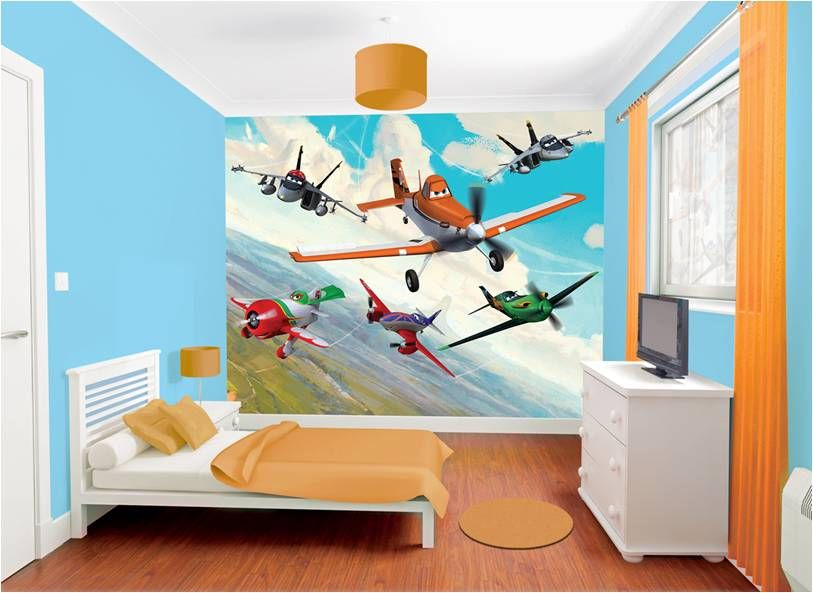 Charmant What A Cute Planes Bedroom!