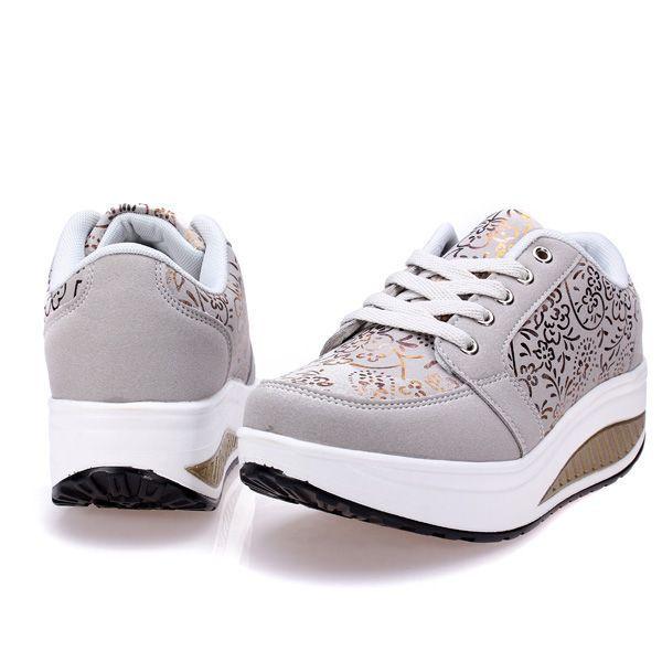 Resultado de imagen para zapatos deportivos para mujer con plataforma
