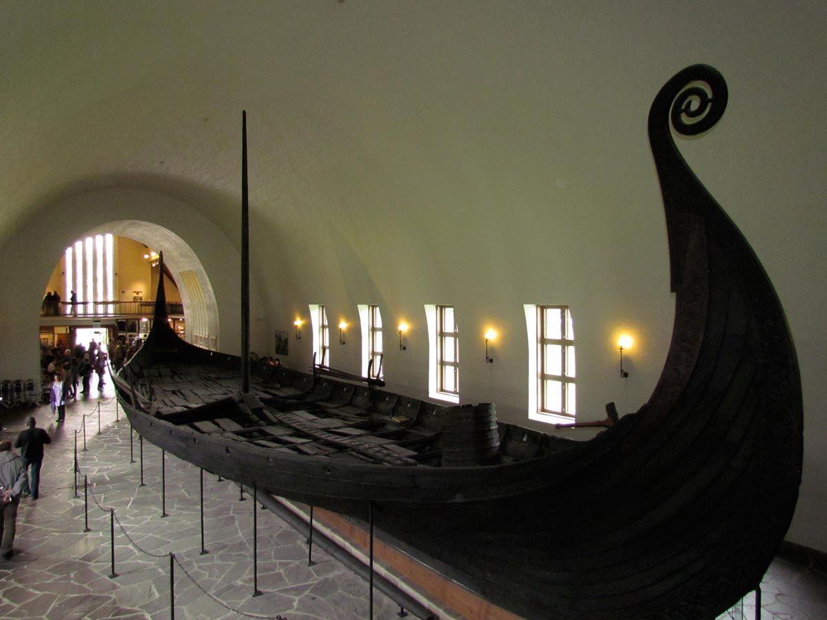 Le navi del Vikingskipshuset Oslo  norvegia