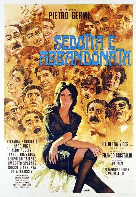 Sedotta e abbandonata 1963 di Pietro Germi con Stefania Sandrelli ...