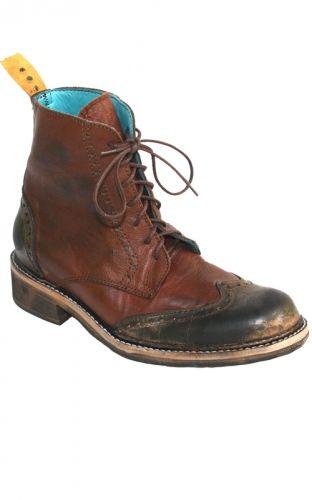 PSKaufman wingtip brogue boot