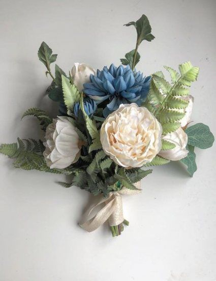 Wedding Bouquets Blue Peonies Bridesmaid 68 Best Ideas #bluepeonies
