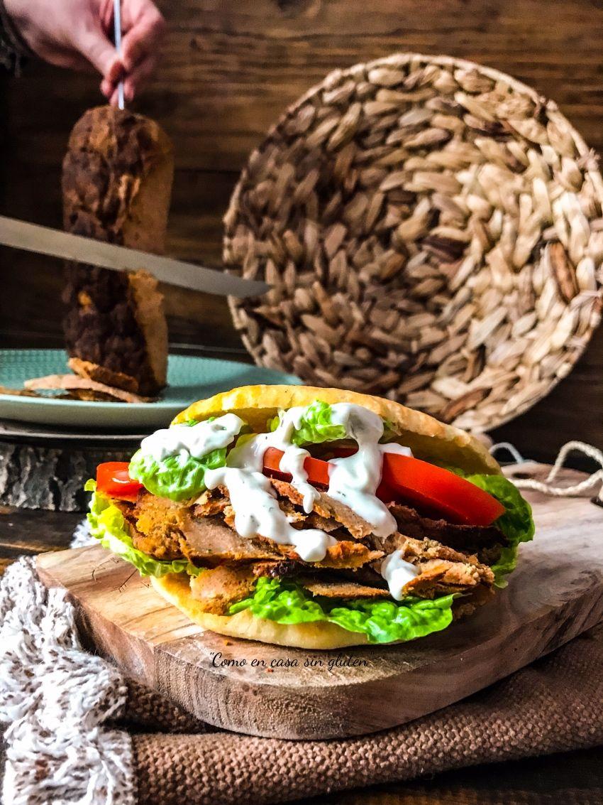 Como En Casa Sin Gluten Kebab Casero Recetas De Comida Y Comida