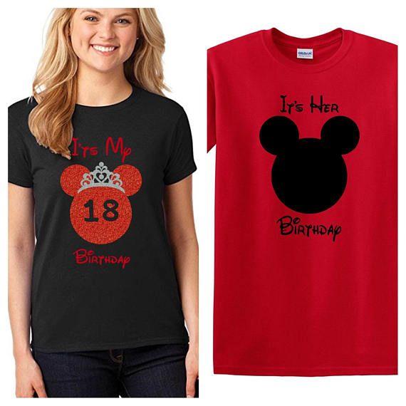 Minnie Mouse Birthday Shirt Disney Adult