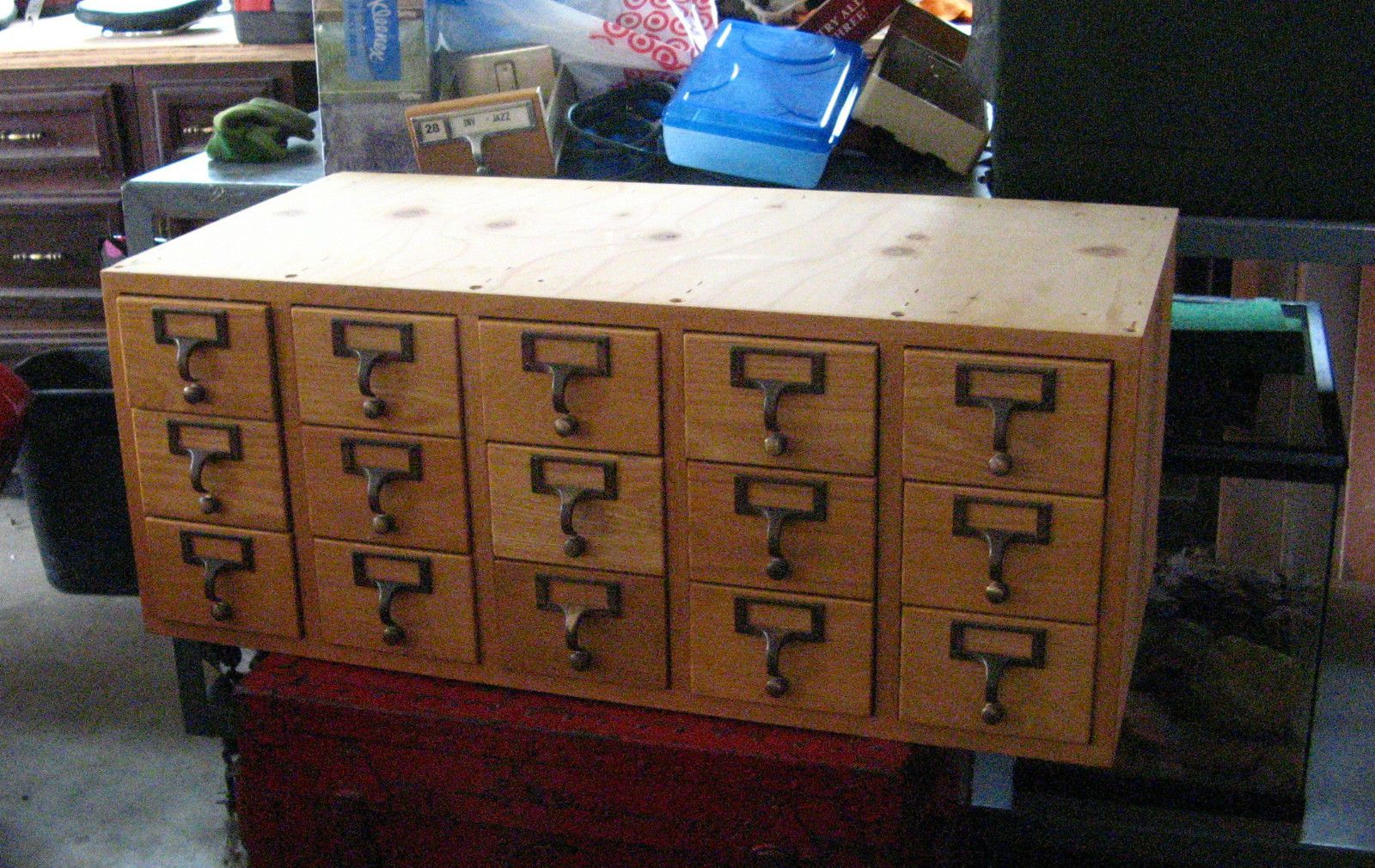 Details About Vintage Library 3x5 Quot Index Card Catalog 15