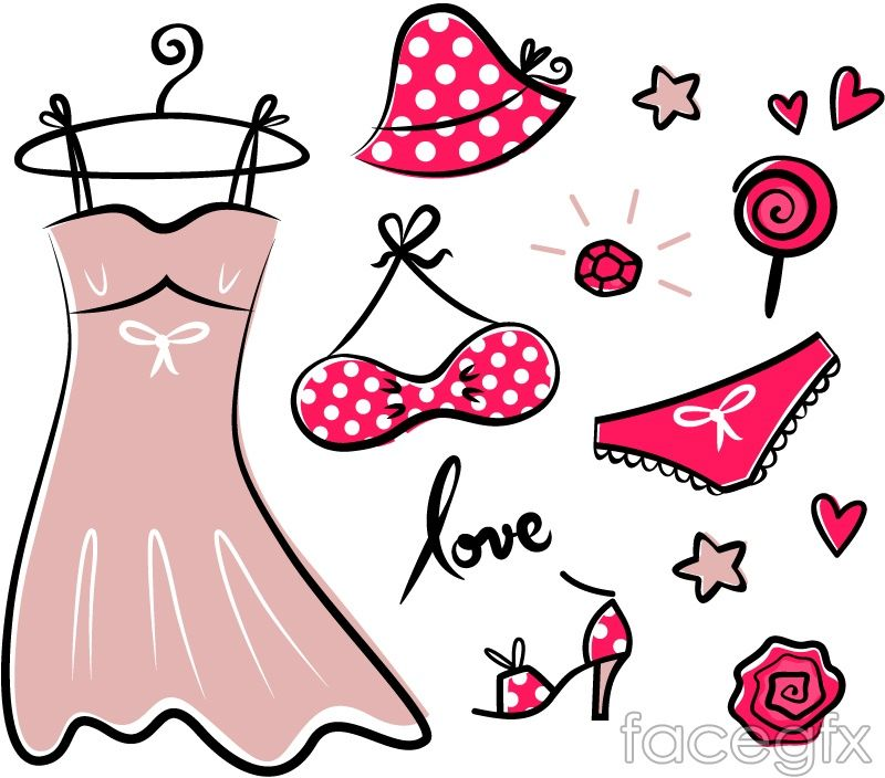 Painted Ladies Of Summer Vector For Free Download Pink Fashion Paint Icon Retro Pink