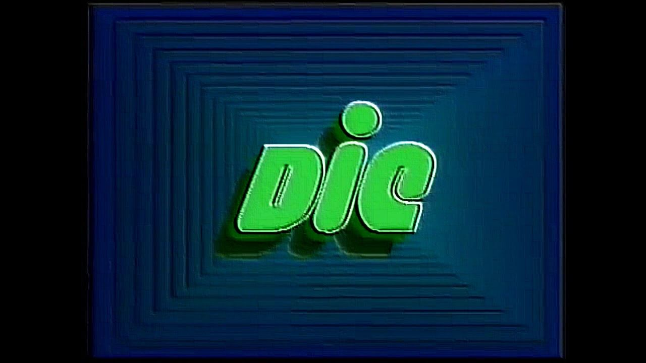 "DiC Entertainment ""Green Vortex"" Logo (1985) Effects 2"