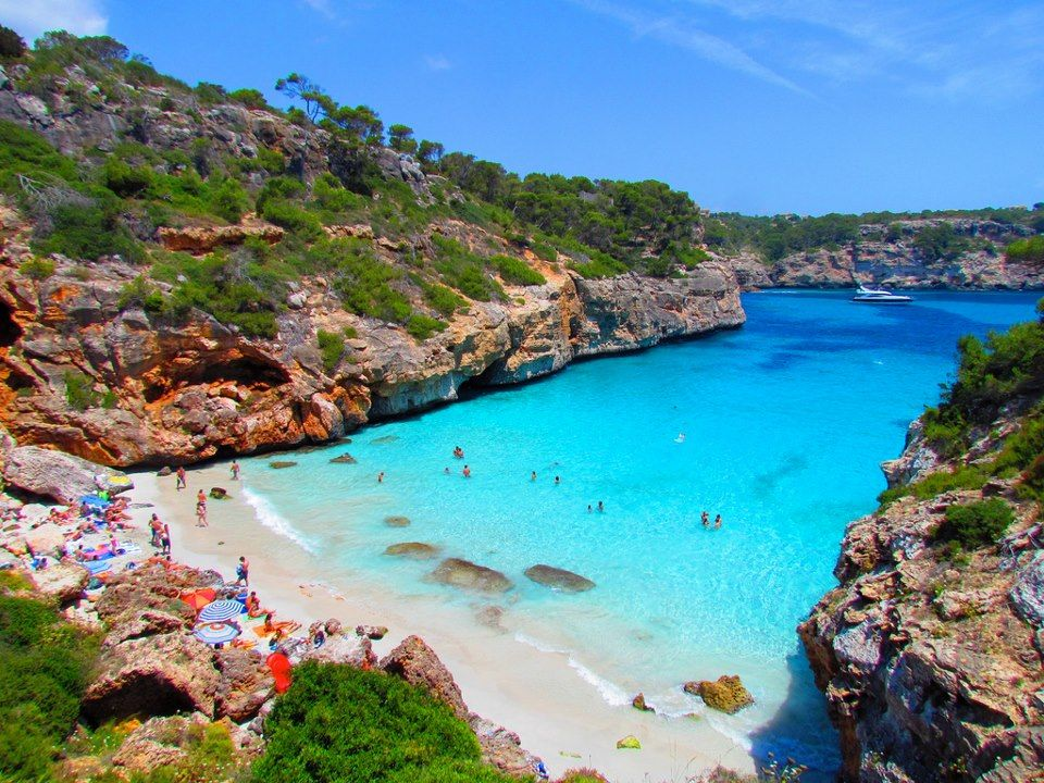 Calo des Moro Beach, Mallorca, Spain Places To Go Before