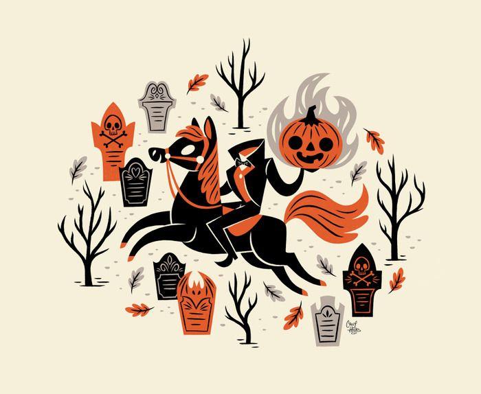 Tumblr Spooky Designs Halloween Illustration Halloween Prints