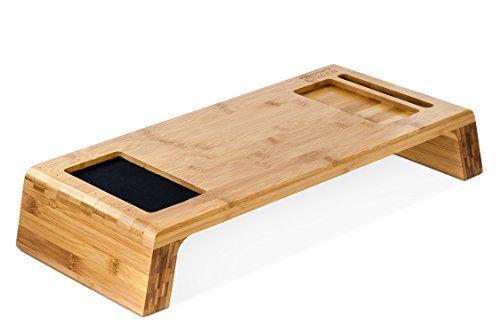 Prosumer's Choice Natural Bamboo iMac Monitor Stand Riser