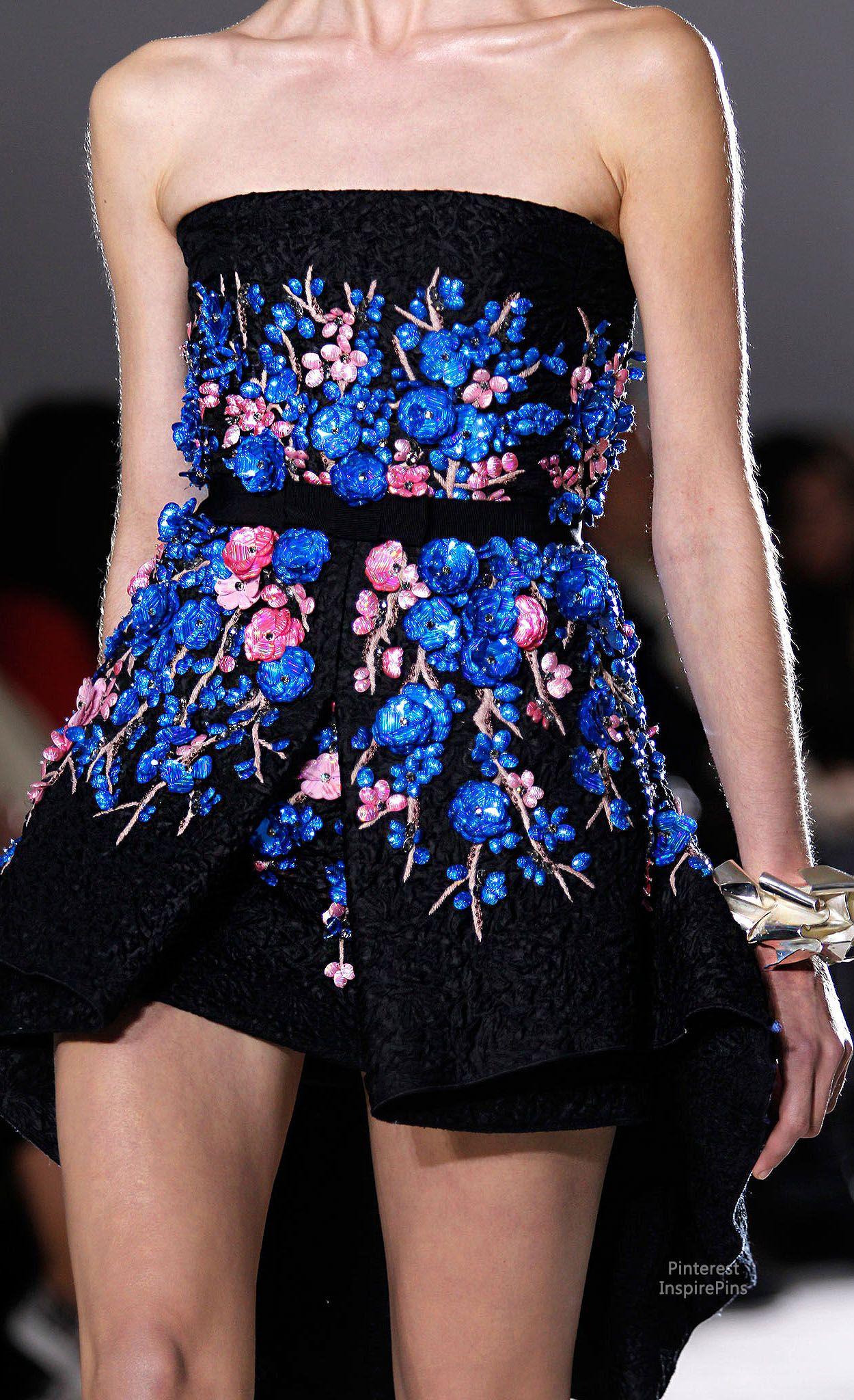Spring 2014 Couture Giambattista Valli (details)