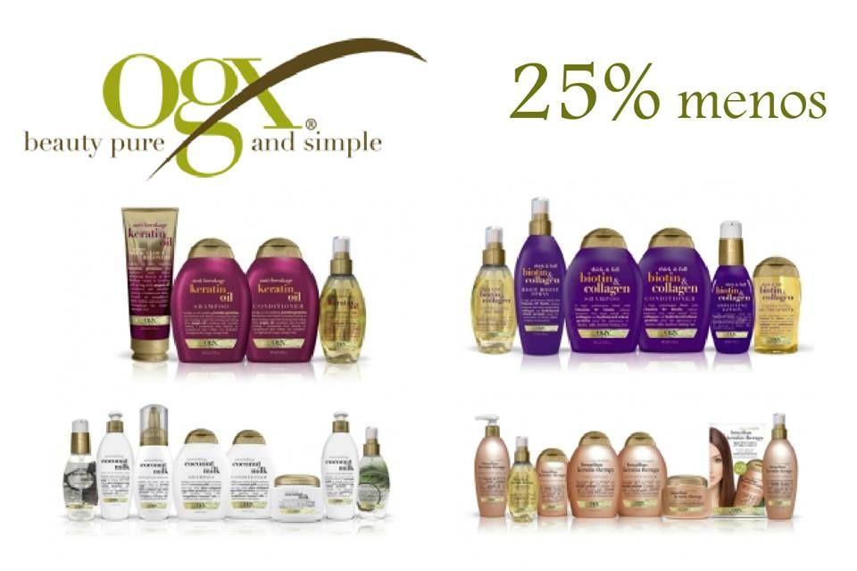 No te lo pierdas, ORGANIX 25% MENOS en toda la marca, Exclusivo Online
