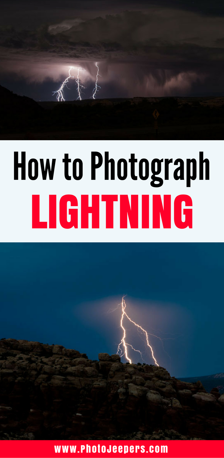 Tips To Photograph Lightning (NOT The Milky Way