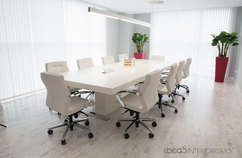 Interiorismo sala de juntas decoraci n de interiores en valencia fotograf as edie andreu - Decoracion interiores valencia ...